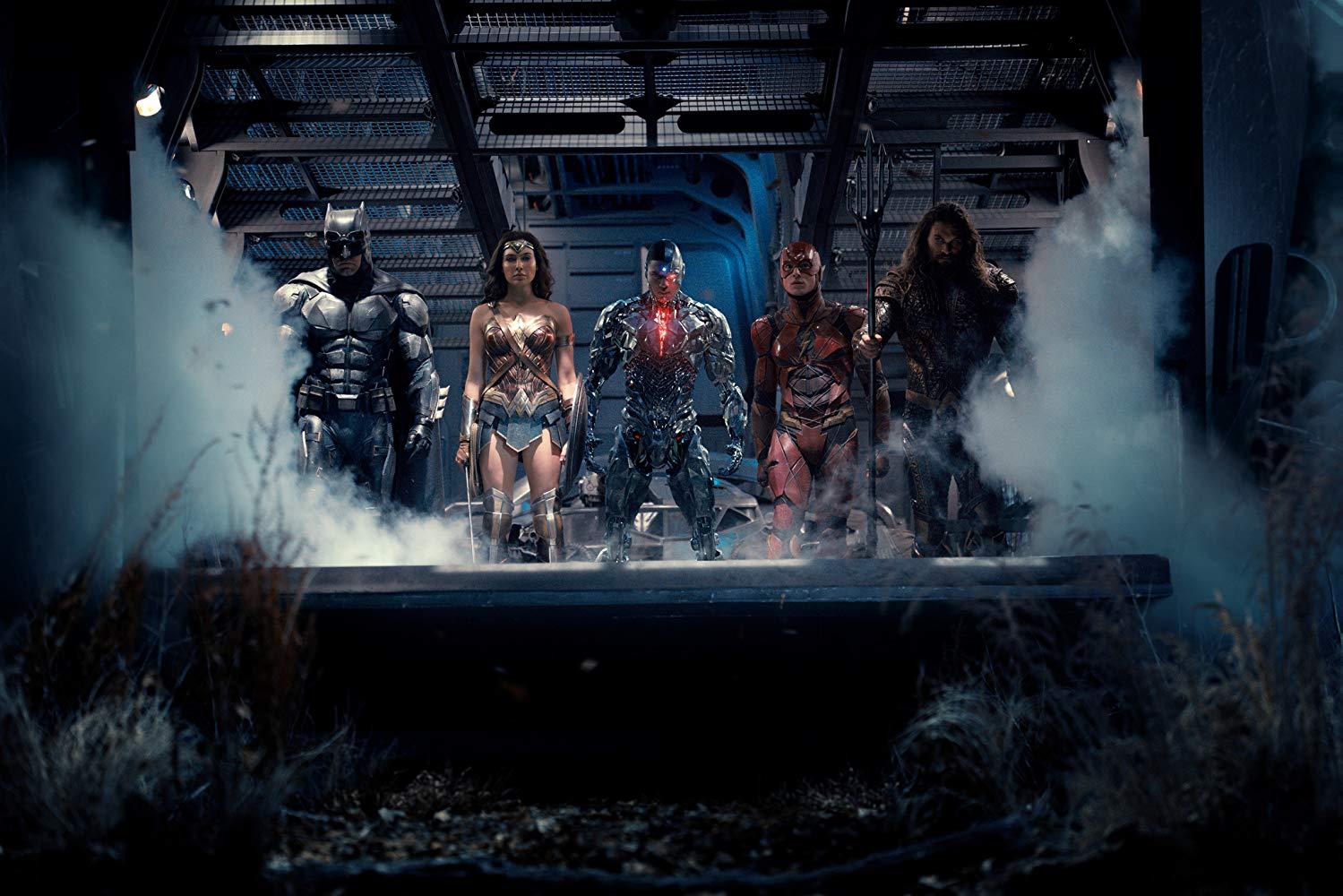 La Liga de la Justicia una luz para los héroes de DC