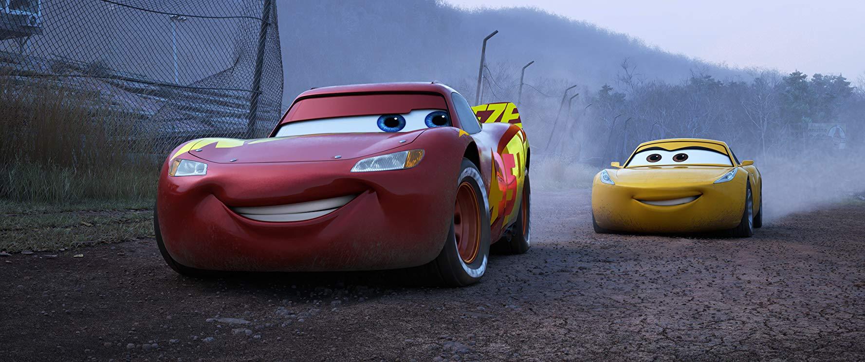 Reseña de la película Cars 3