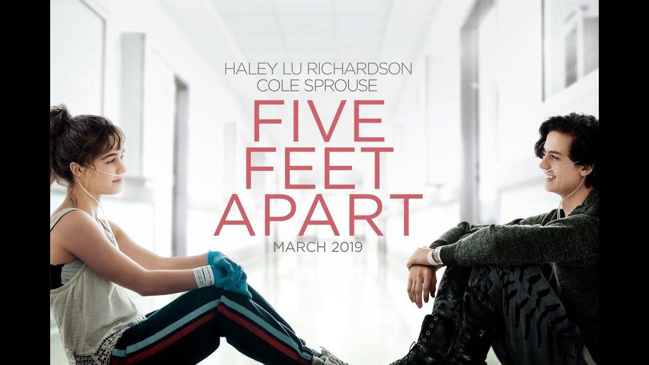 Reseña de la película Dos metros de ti - Five Feet Apart (2019)