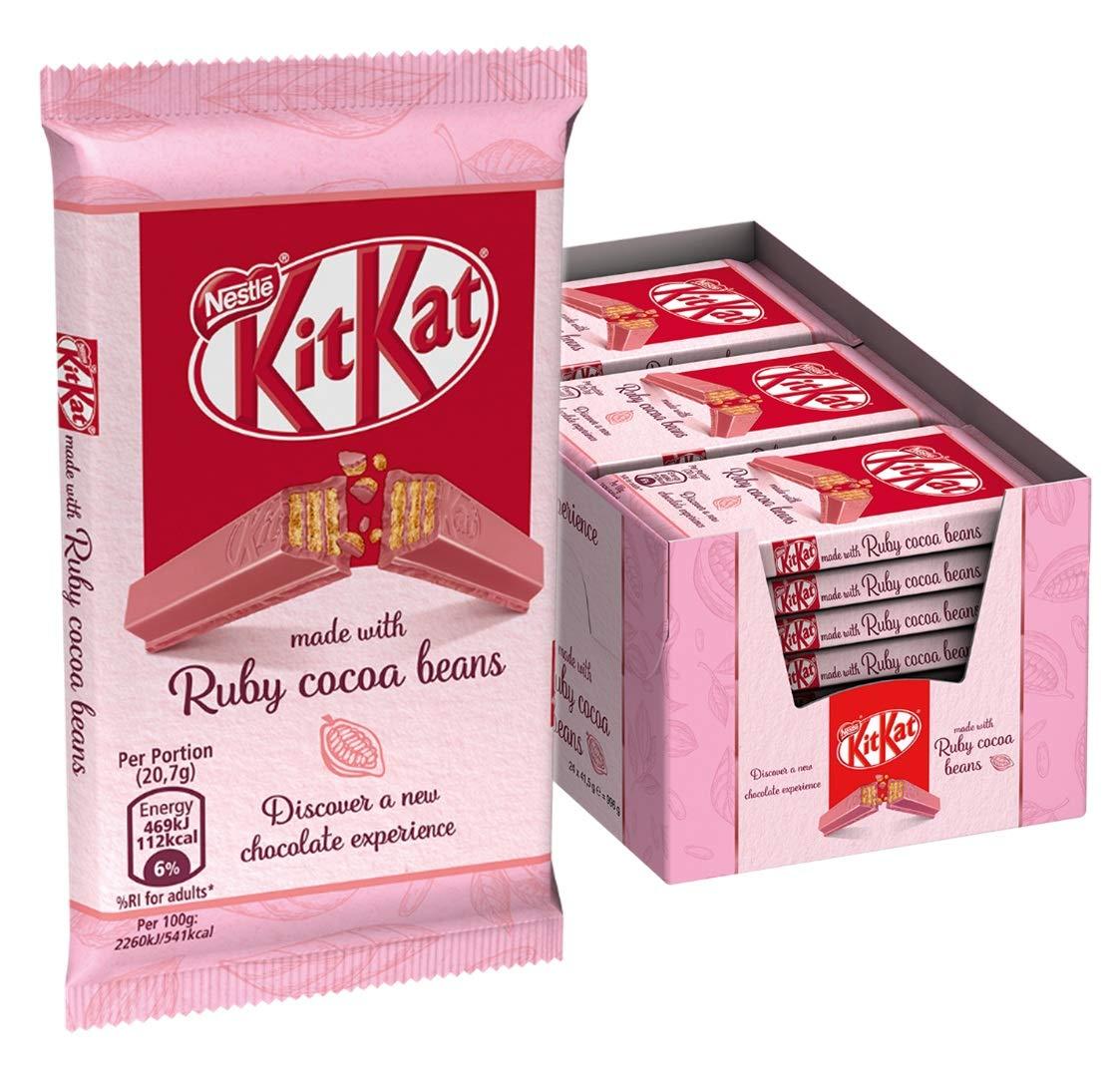 ¿Qué tan rico sabe el KitKat Ruby?