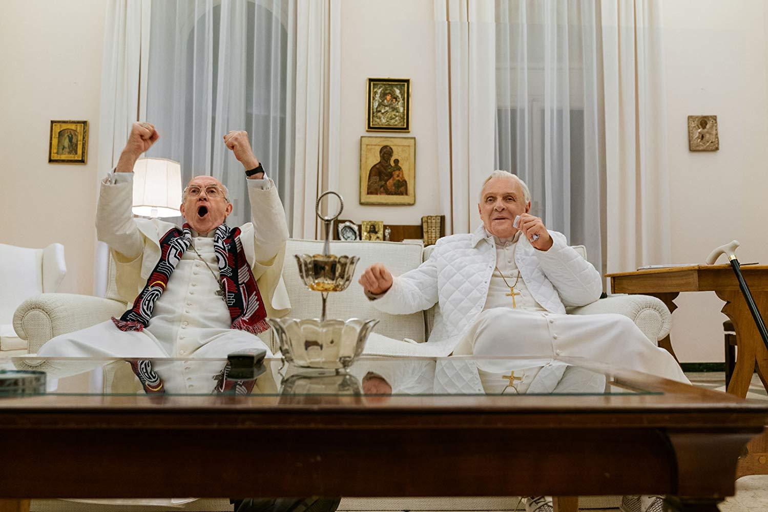 Reseña de la película Los dos papas de Netflix - The Two Popes