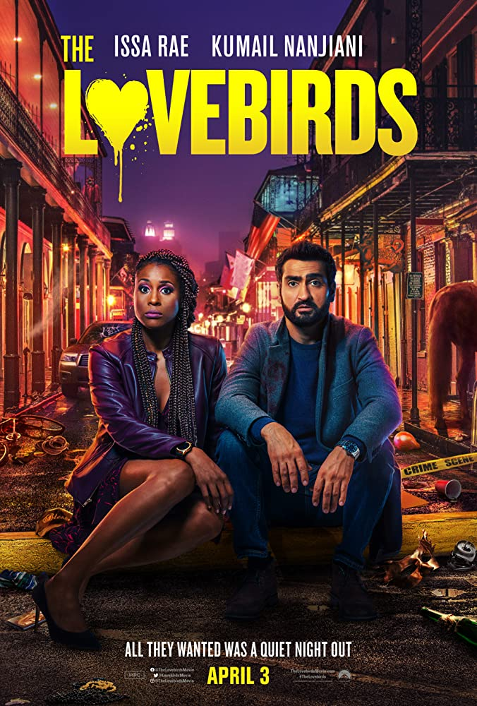 Reseña de la película Dos tórtolos - The Lovebirds de Netflix (2020)