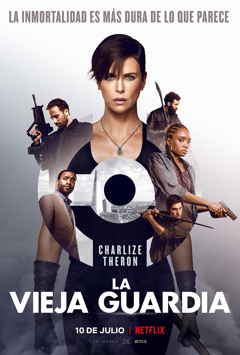 La película La vieja guardia de Netflix llega en julio
