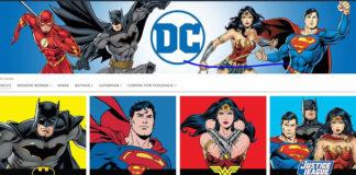 Tienda DC Comics en Amazon
