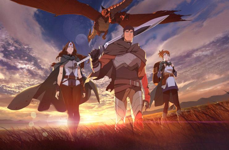 Reseña del anime Dota Sangre de Dragón de Netflix ¿qué tal está?